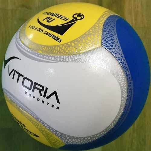 Bola Futsal Vitoria Oficial Termotec Pu 6 Gomos Max 500
