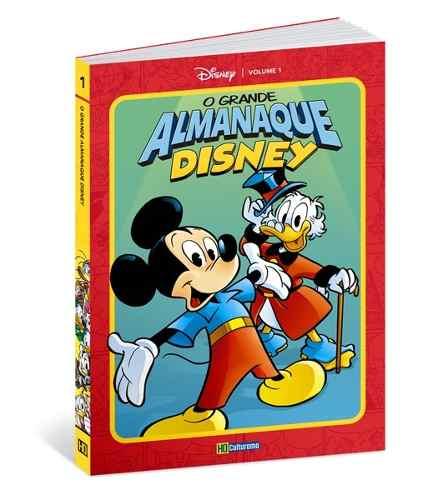 Grande Almanaque Disney N 1 Luxo Lançamento Disney 2019  - Vitoria Esportes
