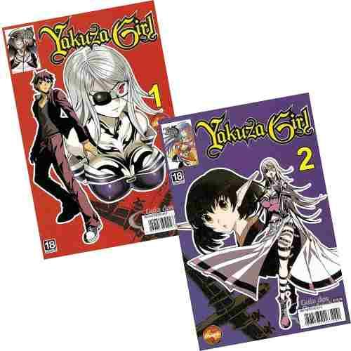 Revista Hq Mangá - Yakuza Girl N° 01 E 2 Mini Série Completa  - Vitoria Esportes