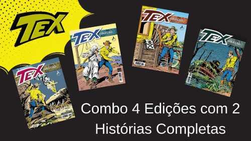 Combo Tex Coleção 403, 404, 405 E 406 Histórias Completas  - Vitoria Esportes