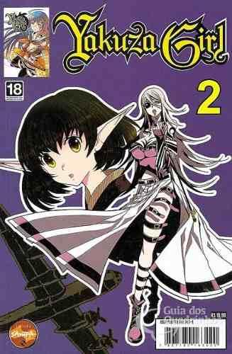 Revista Hq Mangá - Yakuza Girl N° 02  - Vitoria Esportes