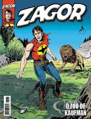Revista Hq Gibi - Zagor 167 - O Zoo De Kaufman  - Vitoria Esportes