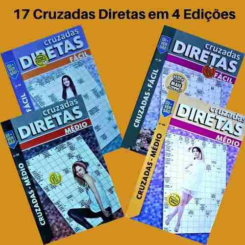 17 Palavras Cruzadas Diretas Coquetel Em 4 Edições  - Vitoria Esportes