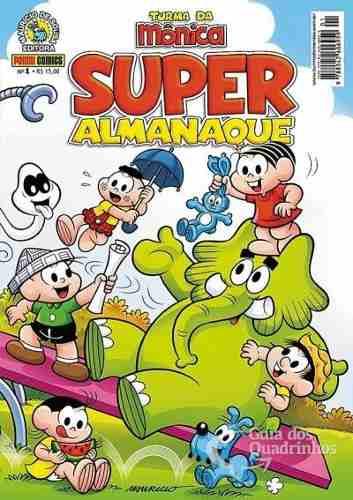 Super Almanaque Turma Da Mônica Nº 1 Panini 300 Pg   - Vitoria Esportes