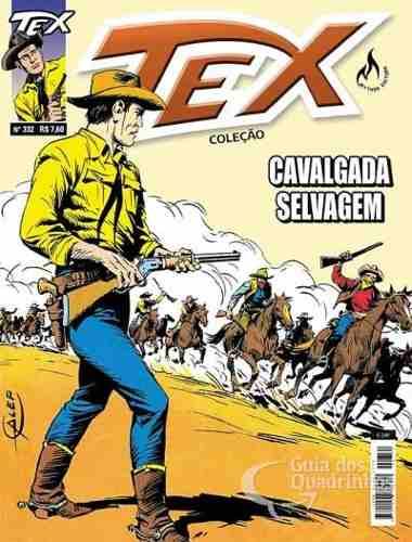 Hq Gibi - Tex Coleção 332 - Cavalgada Selvagem  - Vitoria Esportes