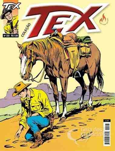 Hq Gibi - Tex Coleção 333 - A volta do carniceiro  - Vitoria Esportes