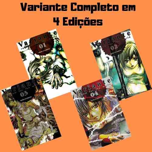 Mangá Hq Gibi Variante Série Completa Em 4 Edições  - Vitoria Esportes
