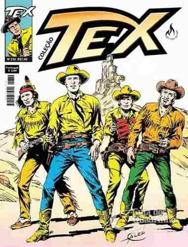 Hq Gibi - Tex Coleção 334  - Vitoria Esportes