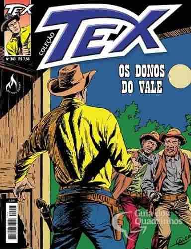 Hq Gibi - Tex Coleção 343  - Vitoria Esportes