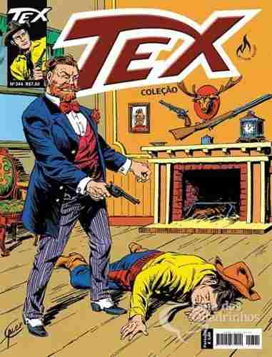 Hq Gibi - Tex Coleção 344  - Vitoria Esportes