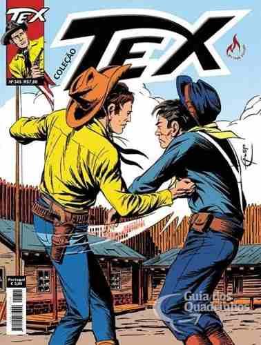 Hq Gibi - Tex Coleção 345  - Vitoria Esportes
