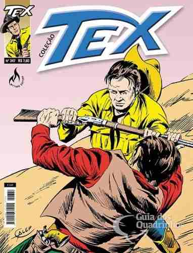 Hq Gibi - Tex Coleção 347  - Vitoria Esportes