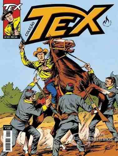Hq Gibi - Tex Coleção 351  - Vitoria Esportes