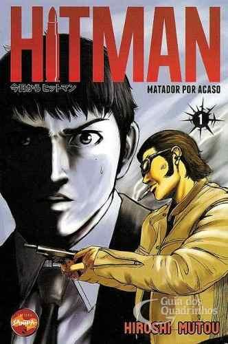 Revista Hq Mangá - Hitman - Matador Por Acaso N° 1  - Vitoria Esportes