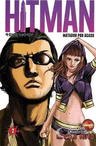 Revista Hq Mangá - Hitman - Matador Por Acaso N° 2  - Vitoria Esportes