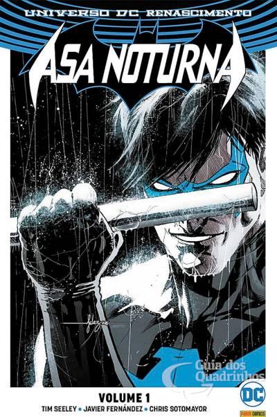 Hq Universo DC Renascimento - Asa Noturna n° 1  - Vitoria Esportes