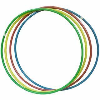 Bambolês Kit C/ 12 Unid. Arcos Plásticos coloridos Ginástica  - Vitoria Esportes
