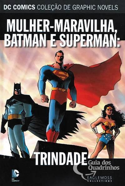 Coleção de Graphic Novels n° 21 - Mulher-Maravilha, Batman e Superman: Trindade  - Vitoria Esportes