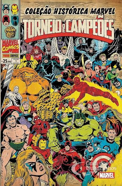 Coleção Histórica Marvel: Torneio de Campeões n° 1  - Vitoria Esportes