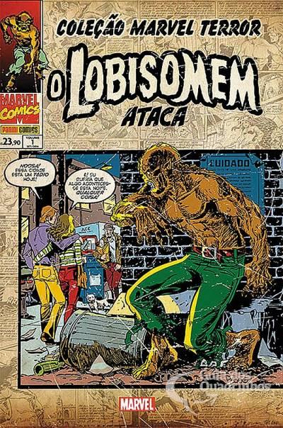 Coleção Marvel Terror - O Lobisomem Ataca  - Vitoria Esportes