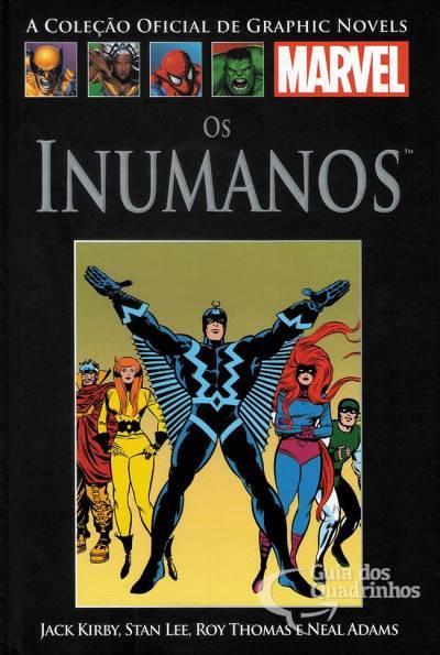 Graphic Novels Marvel - Clássicos n° 10 - Os inumanos  - Vitoria Esportes