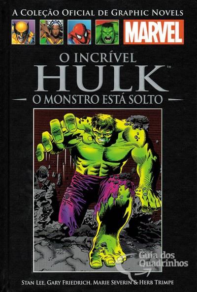 Graphic Novels Marvel - Clássicos n° 11 - O incrivel Hulk o monstro esta solto  - Vitoria Esportes