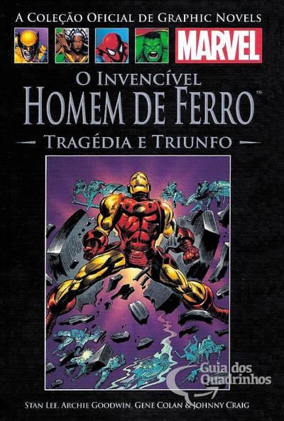 Graphic Novels Marvel - Clássicos n° 7 - O Invencível Homem de Ferro - Tragédia e Triunfo  - Vitoria Esportes