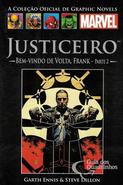 Graphic Novels Marvel n° 19 - Justiceiro bem-vindo de volta, Frank - parte 2  - Vitoria Esportes