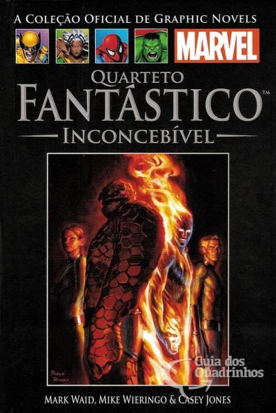 Graphic Novels Marvel n° 30 - Quarteto Fantastico inconcebível  - Vitoria Esportes