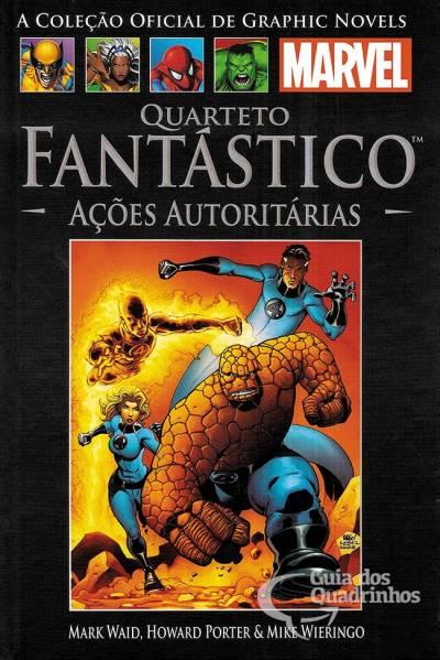 Graphic Novels Marvel n° 31 - Quarteto Fantastico açoes autoritárias  - Vitoria Esportes