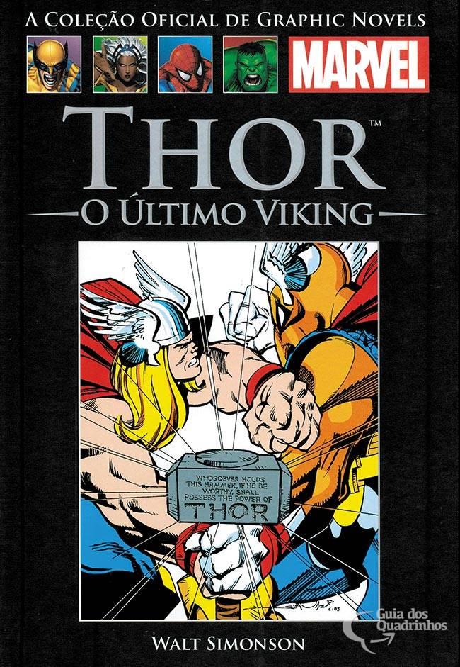 Graphic Novels Marvel  n° 5 - Thor O Ultimo Viking  - Vitoria Esportes