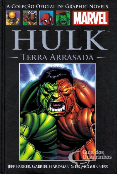 Graphic Novels Marvel n° 67 - Hulk terra arrasada  - Vitoria Esportes