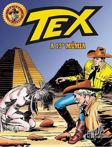 Hq Gibi - Tex Em Cores 30 - A 13ª Múmia  - Vitoria Esportes