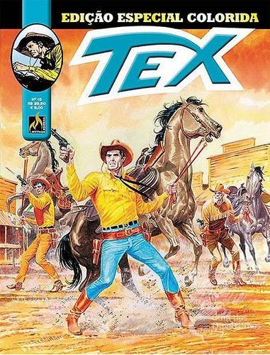 Hq Gibi Tex Especial Colorida 15 - Forca Para Um Inocente  - Vitoria Esportes