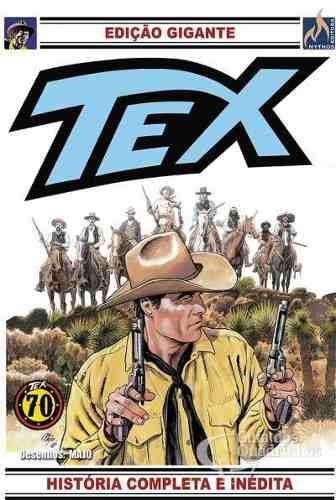 Hq Gibi - Tex Gigante 33 História Completa E Inédita  - Vitoria Esportes