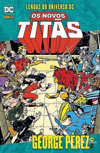 Hq Lendas Do Universo Dc - Os Novos Titãs Ed. 2  - Vitoria Esportes