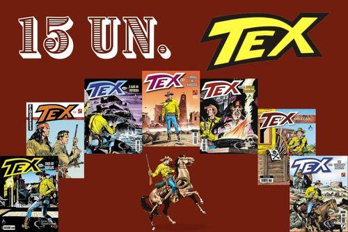 Kit 15 Hqs Gibi Tex Mensal, Coleção Ou Almanaque variados  - Vitoria Esportes