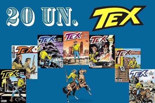 Kit 20 Hqs Gibi Tex Mensal, Coleção Ou Almanaque  - Vitoria Esportes