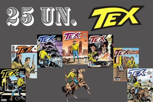 Kit 25 Hqs Gibi Tex Mensal, Coleção Ou Almanaque  - Vitoria Esportes