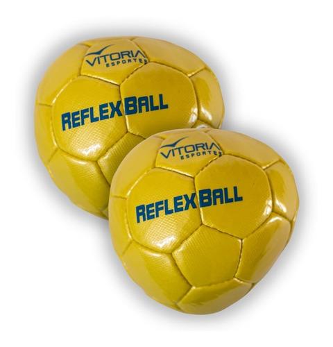 Kit 2 Un Reflex Ball Vitoria Bola Para Treinamento De Goleiros  - Vitoria Esportes
