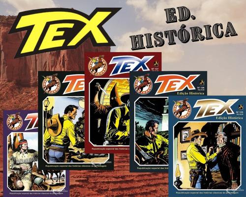 Kit 5 Hqs Gibi Tex Edição Histórica A Escolher  - Vitoria Esportes