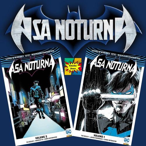 Kit Hq Asa Noturna - Dc Renascimento - Edições 1 E 2  - Vitoria Esportes