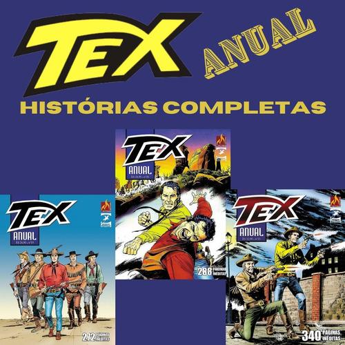 Kit Hq Tex Anual Edições 19, 20, 21 Histórias Completas  - Vitoria Esportes