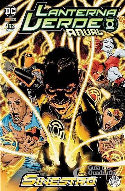 Lanterna Verde Anual: Sinestro n° 1  - Vitoria Esportes