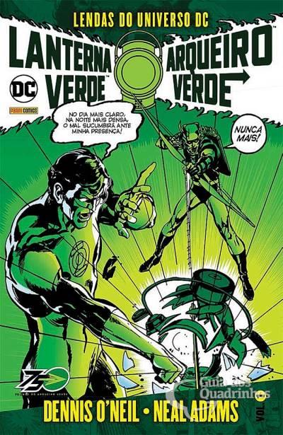 Lendas do Universo DC: Lanterna Verde & Arqueiro Verde  - Vitoria Esportes