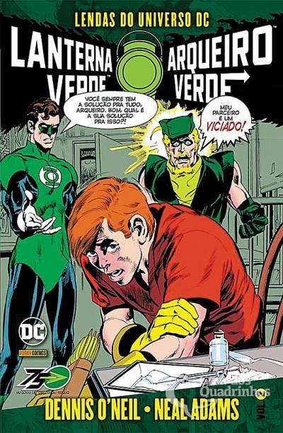 Lendas do Universo DC: Lanterna Verde & Arqueiro Verde n° 2  - Vitoria Esportes