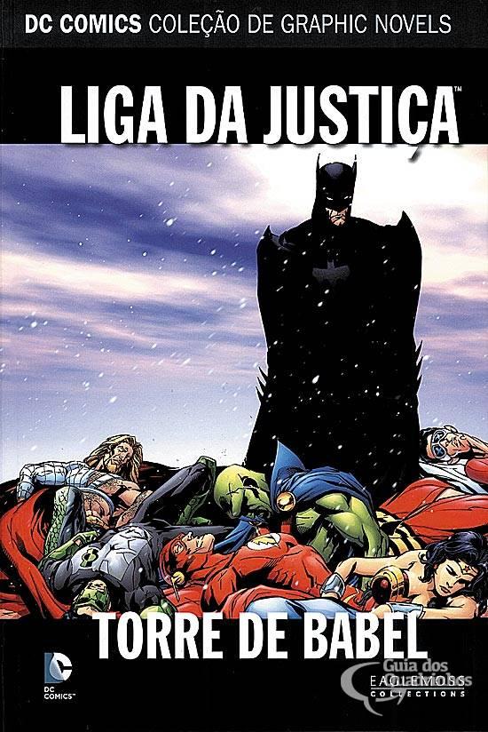 Liga Da Justiça: Torre De Babel - Dc Graphic Novels.  - Vitoria Esportes
