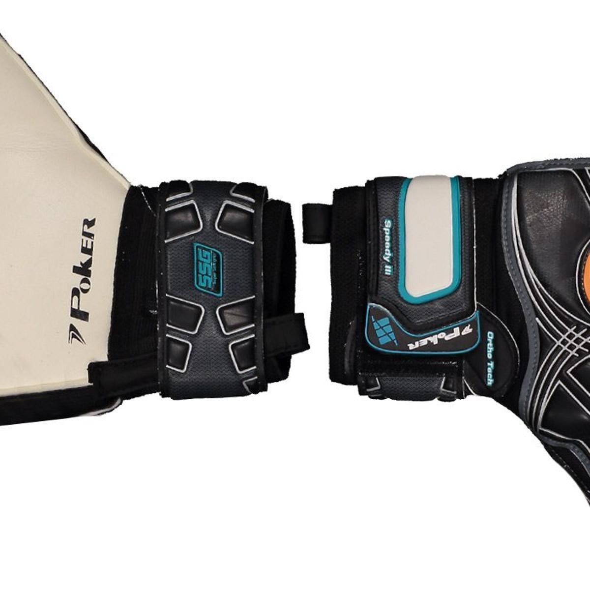 Luva Poker Profissional Speedy 3 Ortho Tech T 9 Fingersave  - Vitoria Esportes