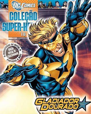 Revista Dc Comics - Gladiador Dourado Eaglemoss  - Vitoria Esportes