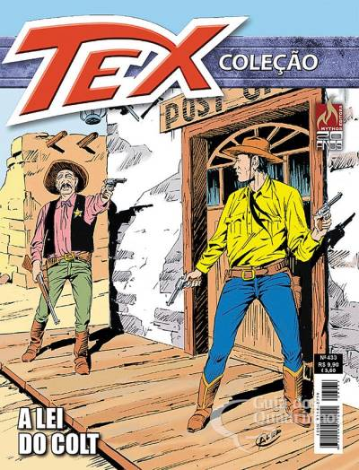 Revista Hq Gibi - Tex Coleção 433  - Vitoria Esportes